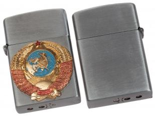 Подарочная зажигалка с гербом СССР по выгодной цене