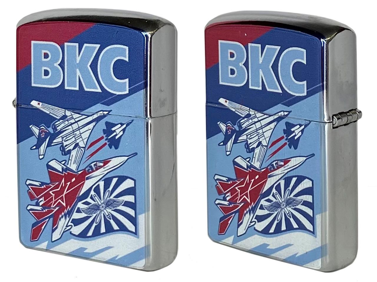 Подарочная зажигалка с символикой ВКС купить по доступной цене