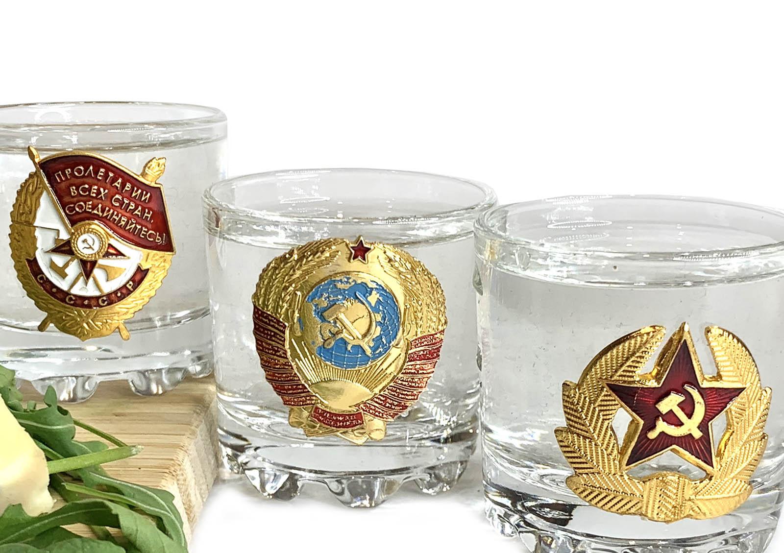 Подарочные стопки СССР