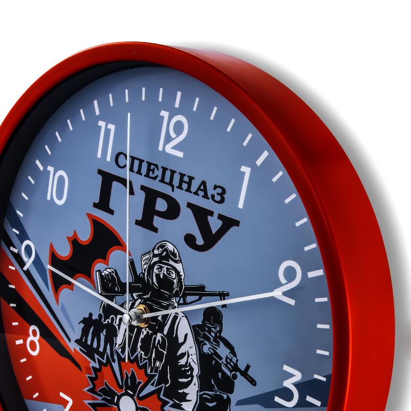 """Подарочные часы """"Спецназ ГРУ"""" на стену купить в Военпро"""