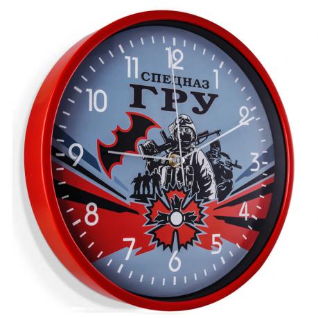 Подарочные часы Спецназ ГРУ на стену