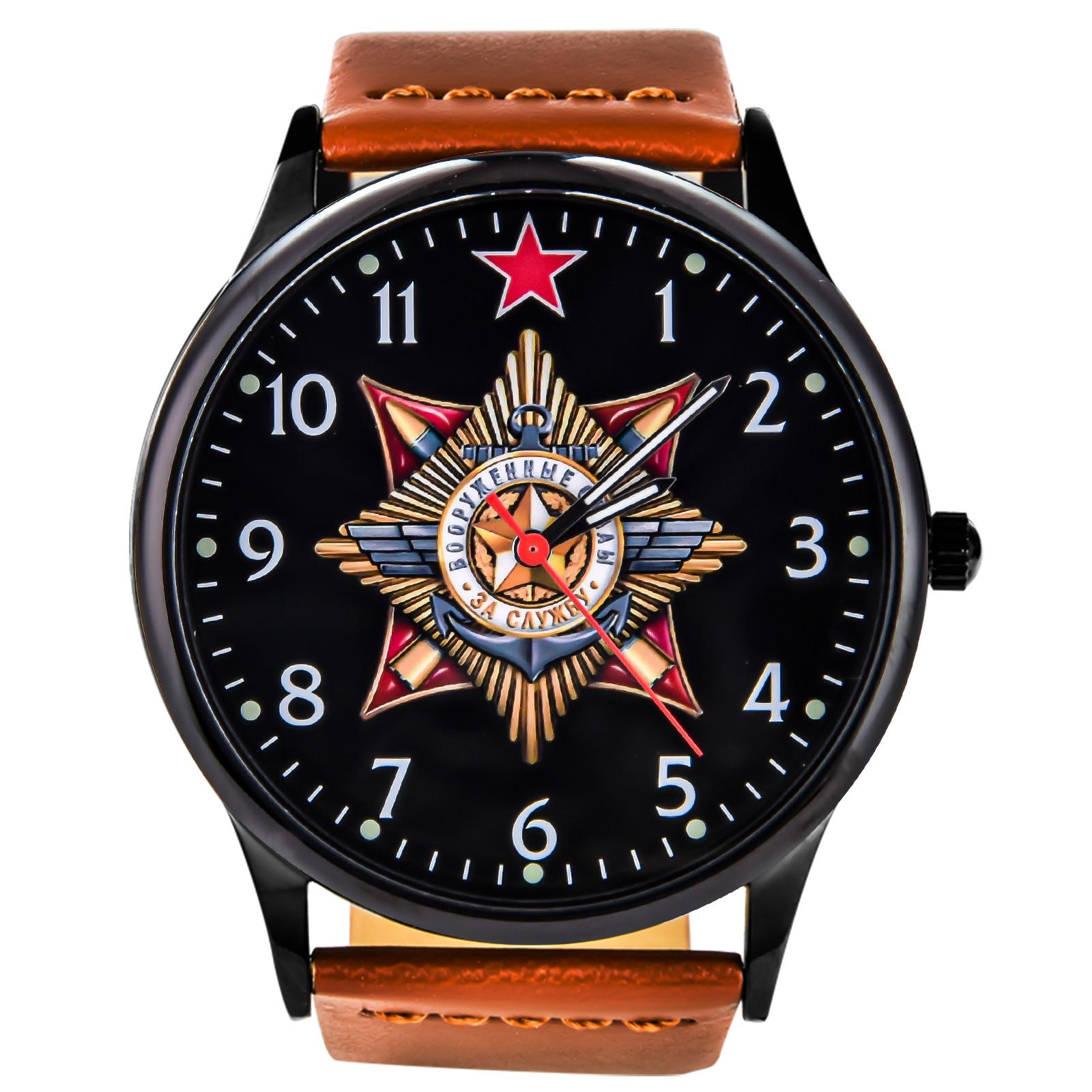 Подарочные командирские часы ВС РФ купить в Военпро