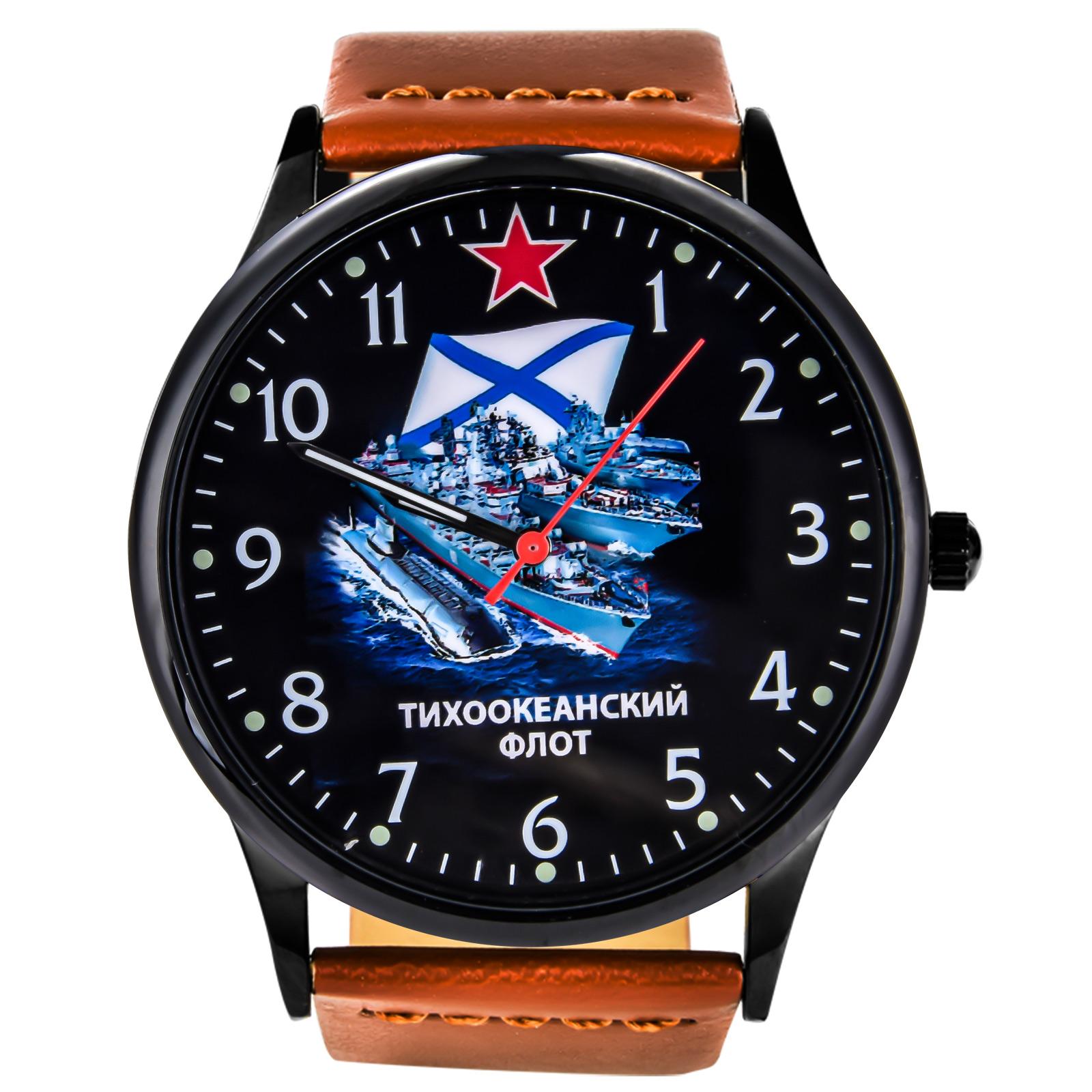"""Подарочные наручные часы """"Тихоокеанский флот"""" купить в Военпро"""