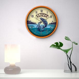 Подарочные настенные часы Лучшему рыбаку заказать в Военпро