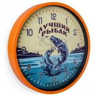 Подарочные настенные часы Лучшему рыбаку