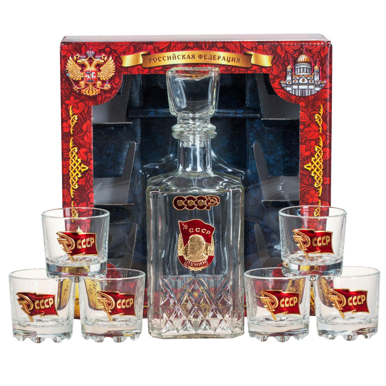"""Подарочный набор для алкоголя """"Советский"""""""