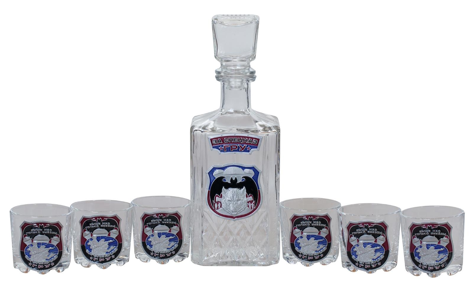 """Подарочный набор для спиртных напитков """"За Спецназ ГРУ"""" по выгодной цене"""