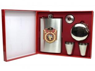 Подарочный набор из нержавейки За морскую пехоту