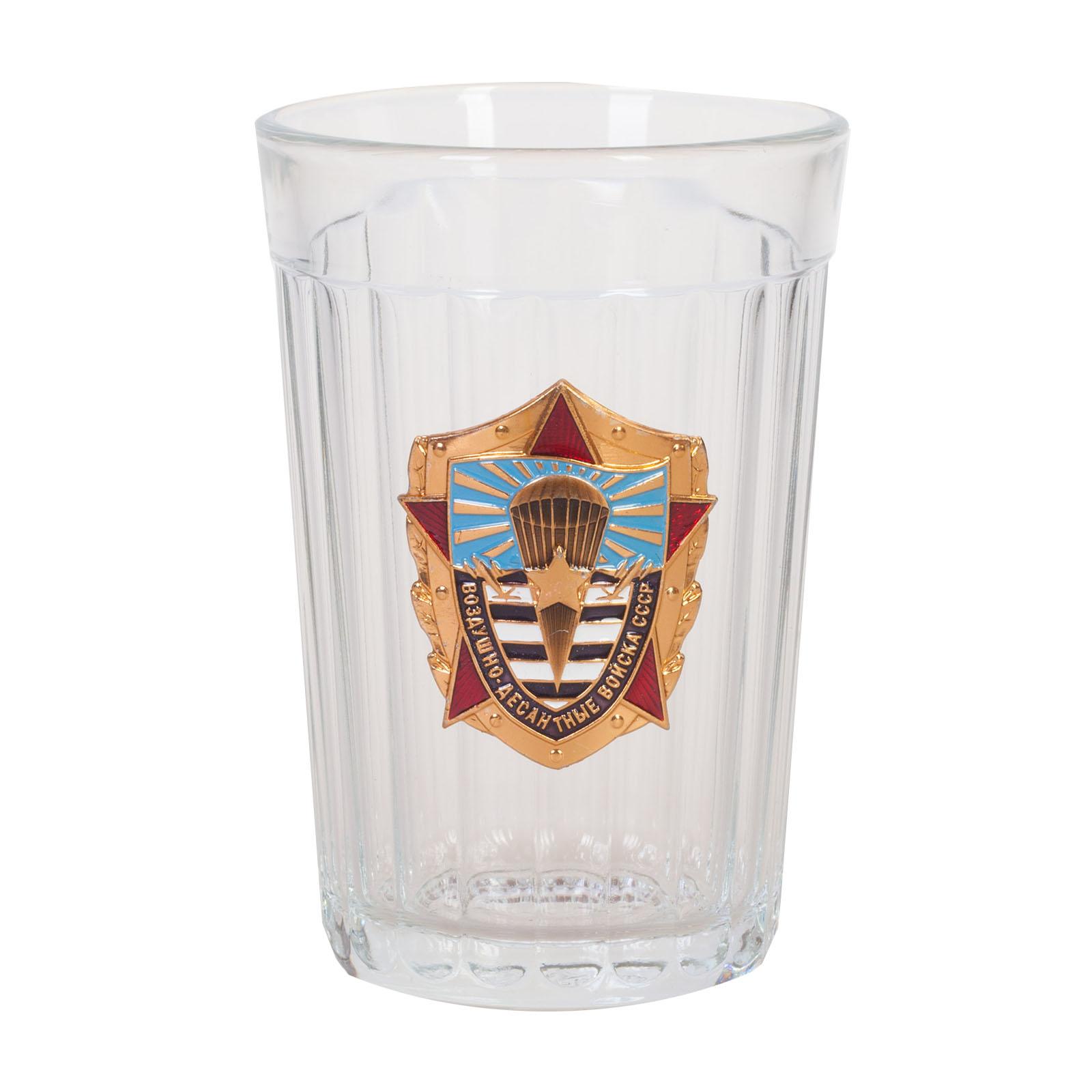 Подарочный стакан ветерану ВДВ СССР