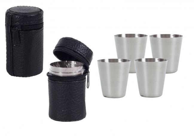 Подарок для похода - стаканчики в футляре (№106)