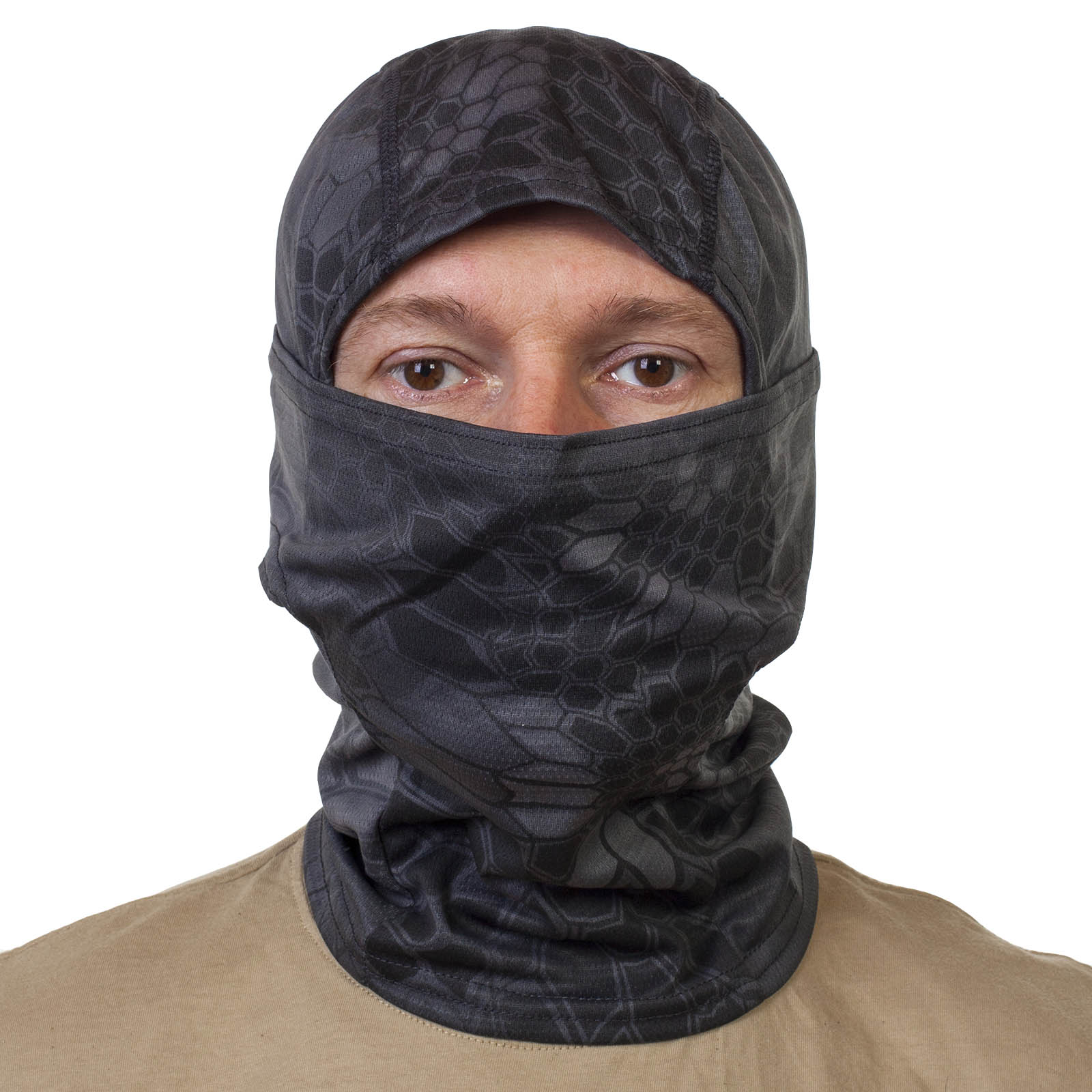 Трикотажная маска подшлемник Kryptek Typhon.