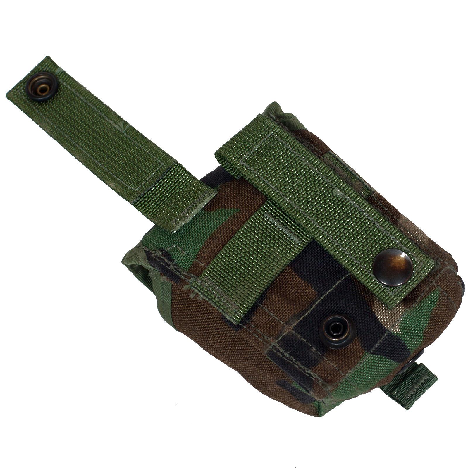 Подсумок MOLLE для ручной гранаты, камуфляж Woodland по лучшей цене