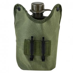 Подсумок с флягой и кружкой-котелком для Пограничников высокого качества
