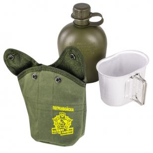 Подсумок с флягой и кружкой-котелком для Пограничников с доставкой
