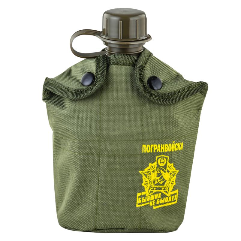 Подсумок с флягой и кружкой-котелком для Пограничников