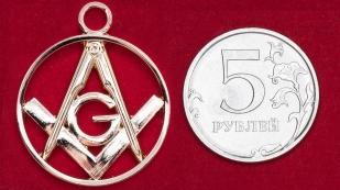Подвеска с масонской символикой