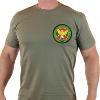 Пограничная мужская футболка с вышивкой КППО