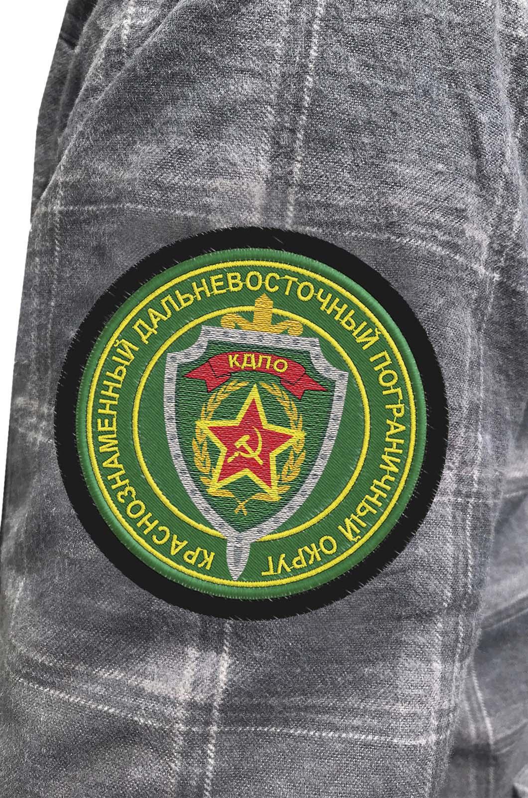 Пограничная рубашка с эмблемой КДПО купить по сбалансированной цене
