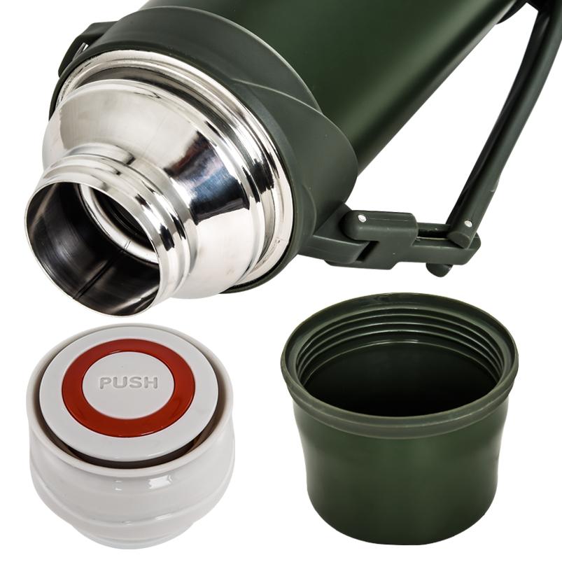 Пограничный термос с крышкой-стаканом - купить оптом