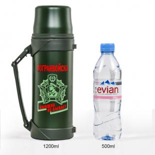 Пограничный термос с крышкой-стаканом - купить онлайн