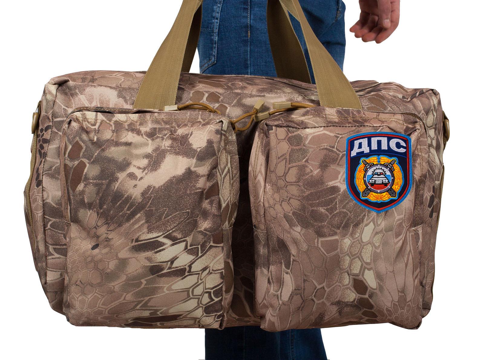 Походная камуфлированная сумка с нашивкой ДПС - купить оптом