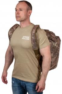 Походная камуфлированная сумка с нашивкой ДПС - купить выгодно