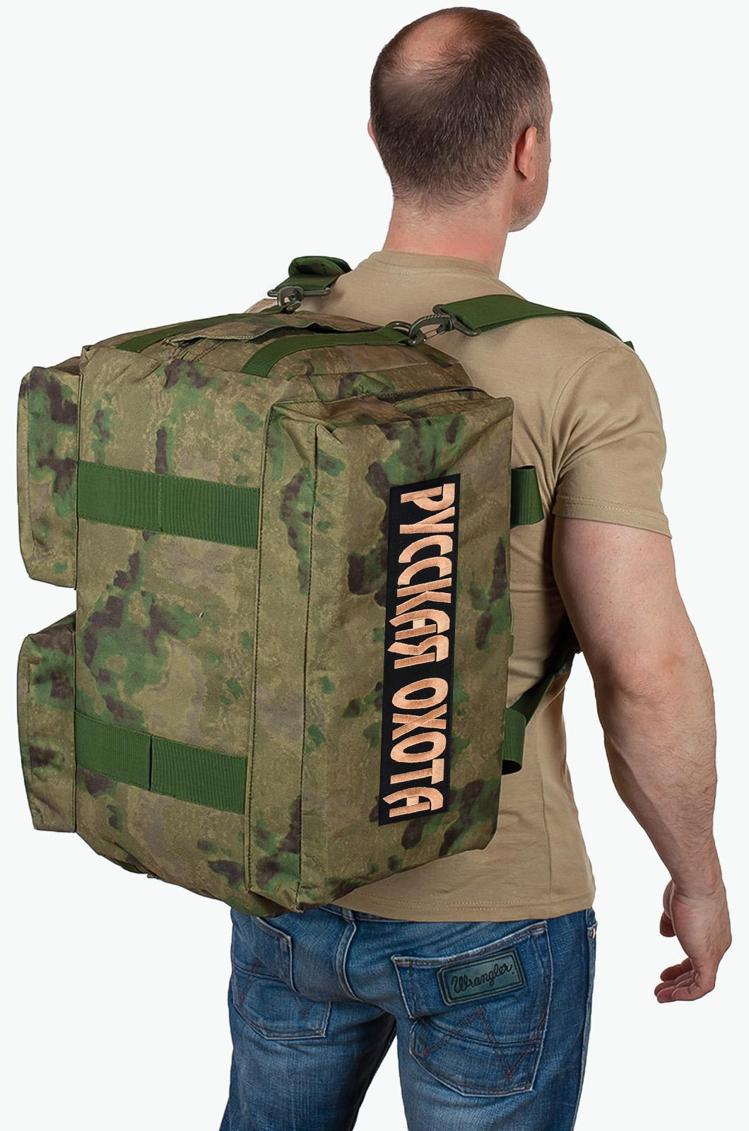 Купить походную камуфляжную сумку Русская Охота по экономичной цене