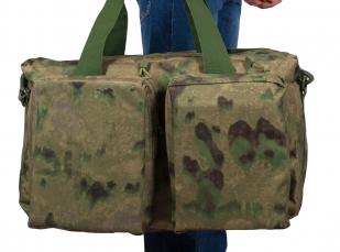Походная камуфляжная сумка Русская Охота - купить в подарок