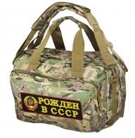 Походная камуфляжная сумка-рюкзак Рожден в СССР - купить по низкой цене