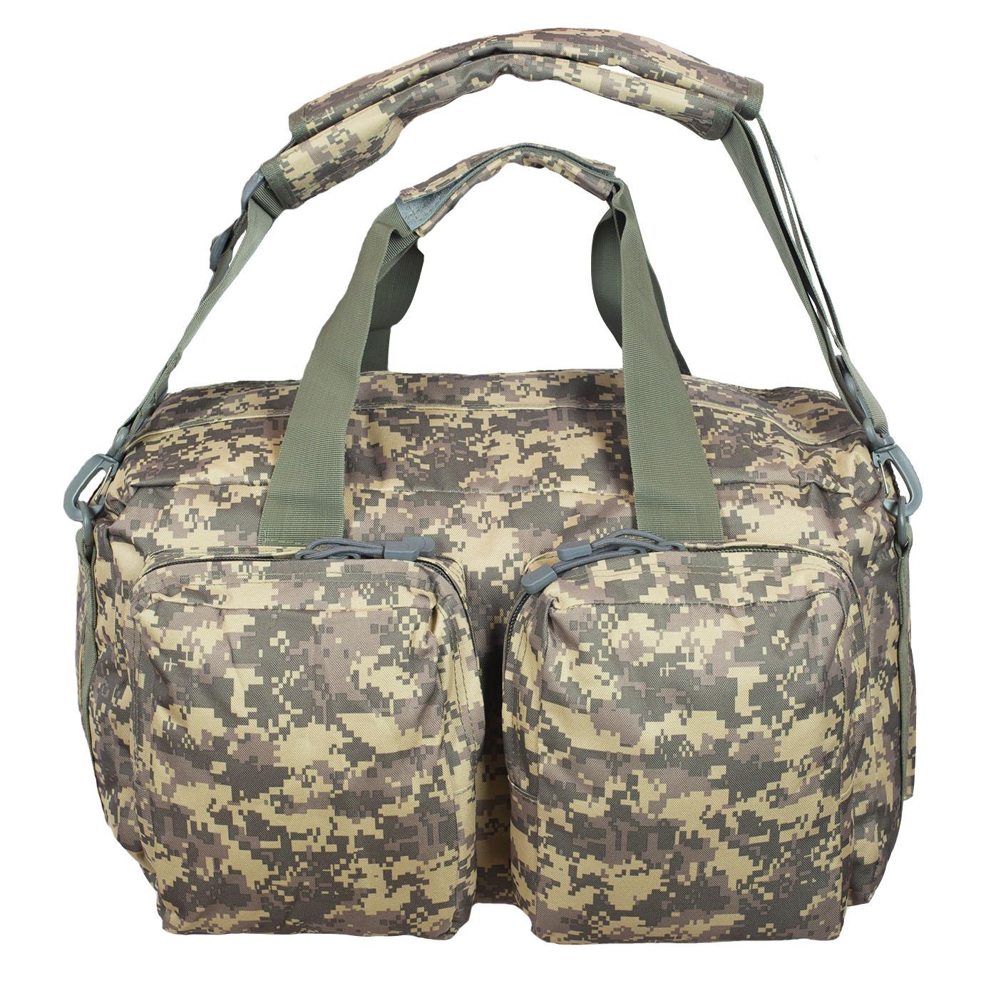 Походная камуфляжная сумка с нашивкой Росгвардия