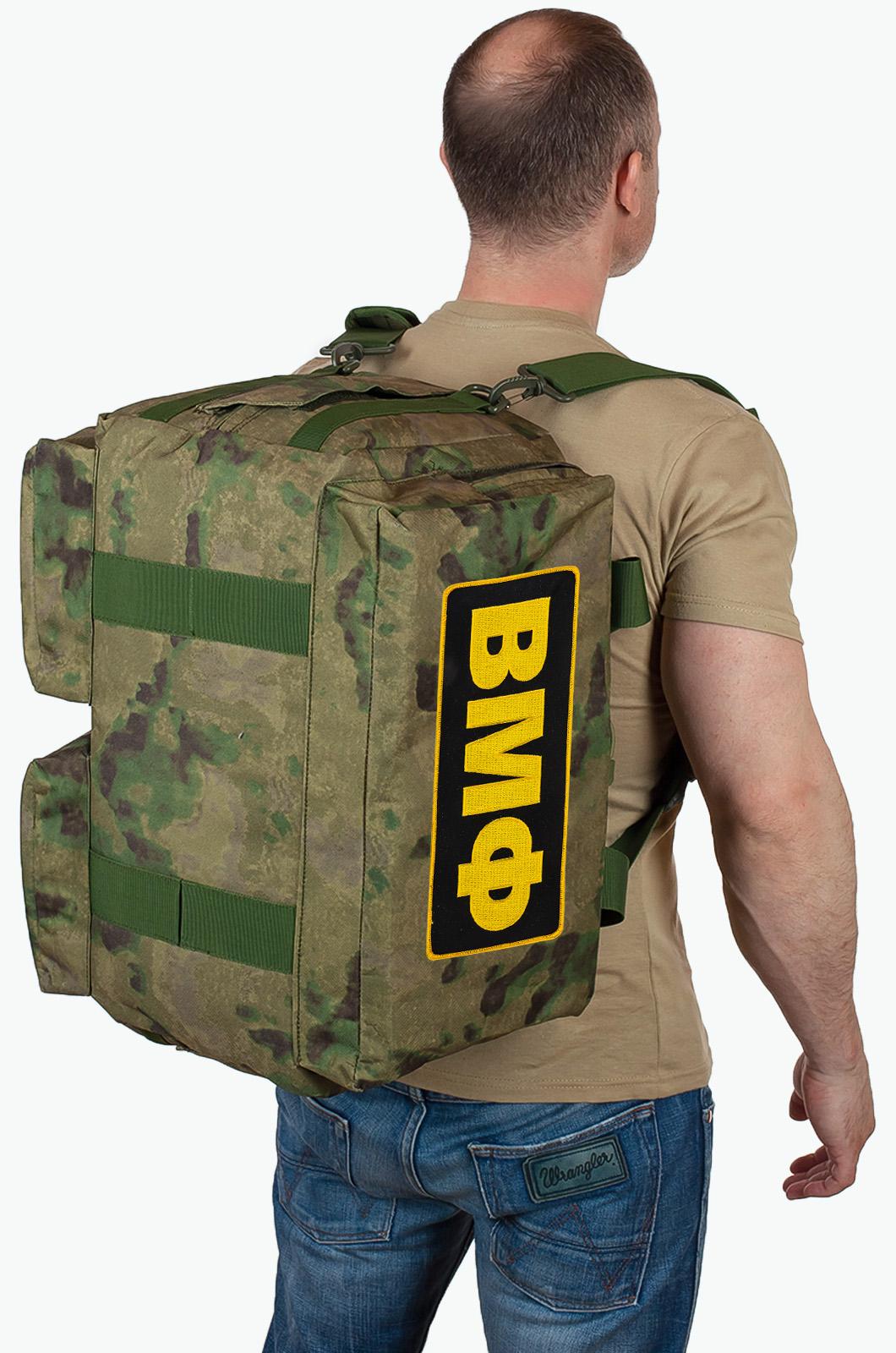 Купить походную камуфляжную сумку ВМФ с доставкой или самовывозом