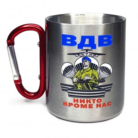 Походная кружка ВДВ Десантник с карабином