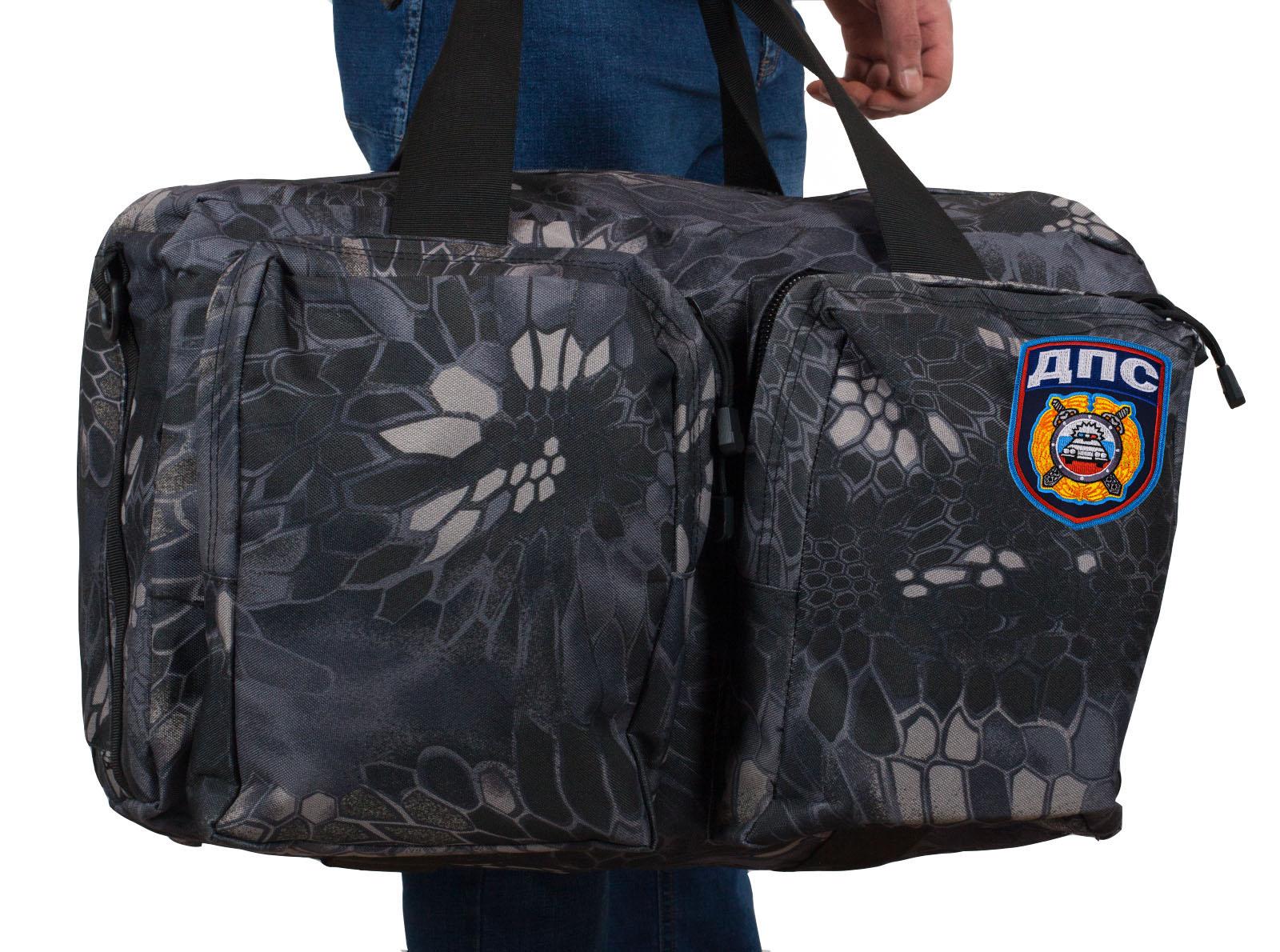 Походная надежная сумка с нашивкой ДПС - купить с доставкой