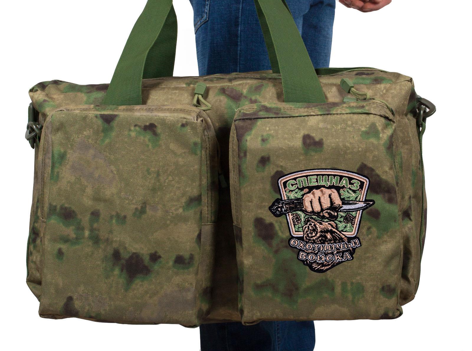 Походная полевая сумка с эмблемой Охотничьих войск купить в подарок
