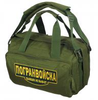 Походная сумка-рюкзак с нашивкой Погранвойска - купить онлайн