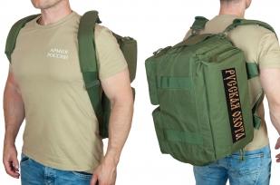 Походная сумка-рюкзак с нашивкой Русская Охота - заказать оптом