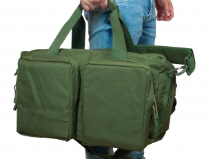 Походная сумка-рюкзак с нашивкой Русская Охота - заказать в подарок