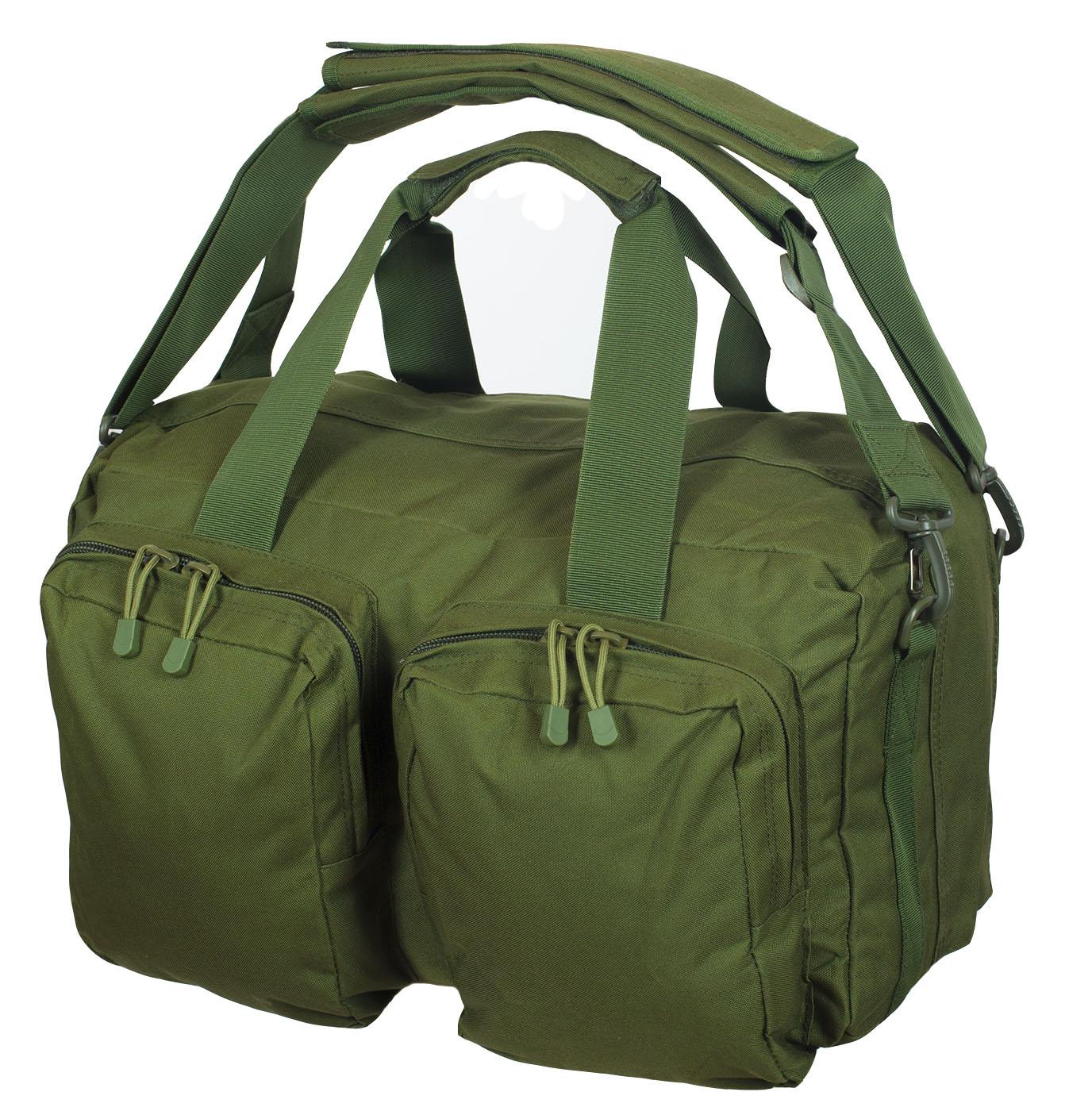 Походная сумка-рюкзак с нашивкой Танковые Войска