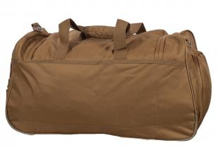 Походная вместительная сумка 08032B Coyote с нашивкой Погранвойска