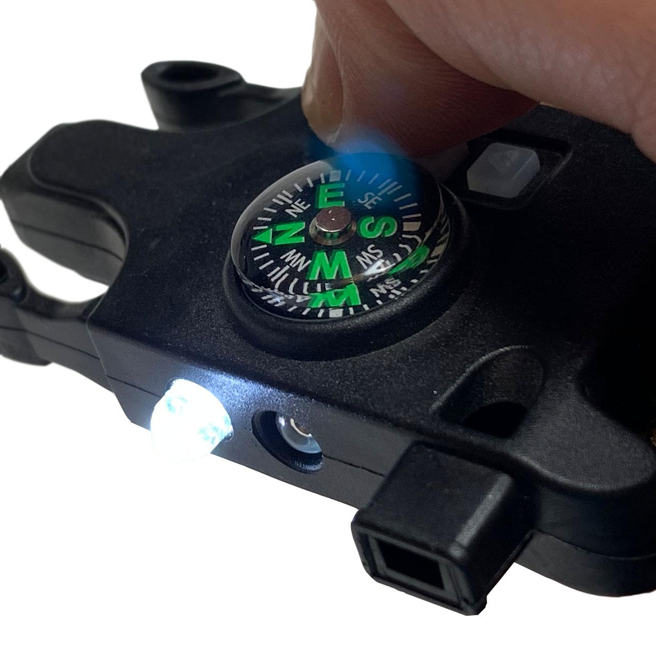 Походные часы с тактическим браслетом
