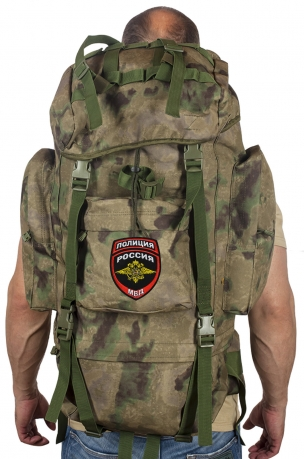 Походный эргономичный ранец-рюкзак с нашивкой Полиция России