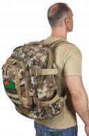 Походный камуфляжный рюкзак с эмблемой Погранвойск СССР