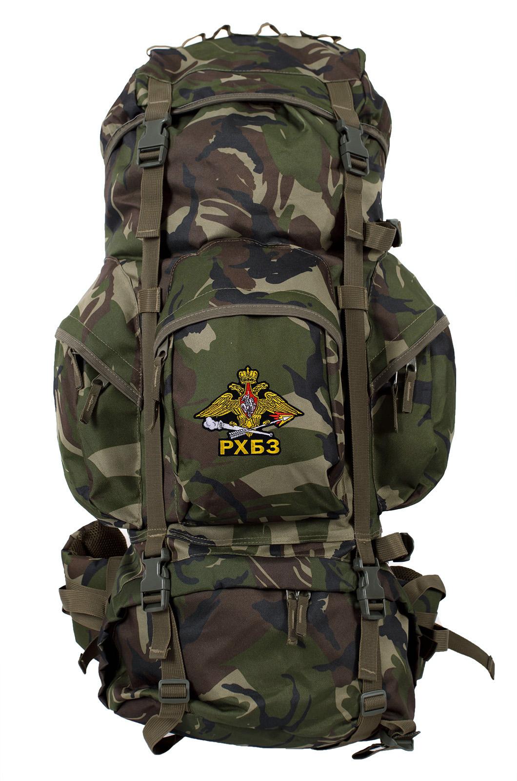 Походный камуфляжный рюкзак с нашивкой РХБЗ - купить с доставкой