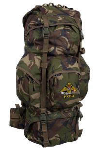 Походный камуфляжный рюкзак с нашивкой РХБЗ - купить по низкой цене