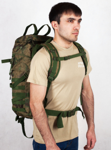 Походный камуфляжный рюкзак с военной нашивкой Пограничной службы - купить по выгодной цене