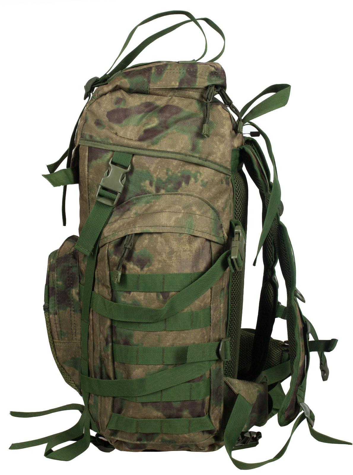 Походный камуфляжный рюкзак с военной нашивкой Пограничной службы - заказать по выгодной цене