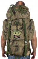 Походный крутой ранец-рюкзак с нашивкой Герб России