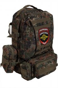 Походный надежный рюкзак с нашивкой Полиция России - купить в Военпро
