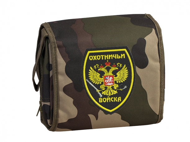 Походный несессер с шевроном «Охотничьи войска»