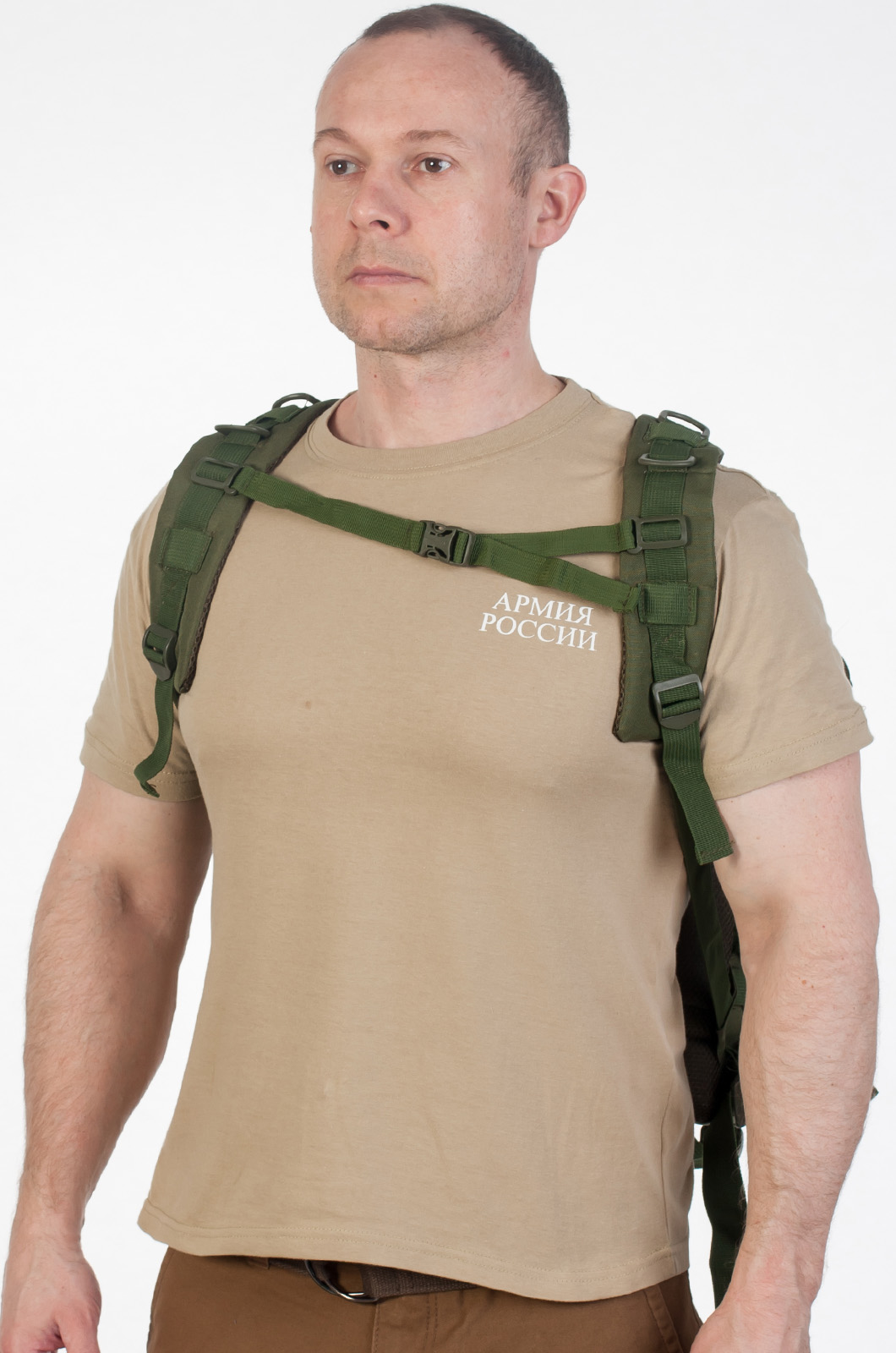 Походный рюкзак хаки в интернет-магазине